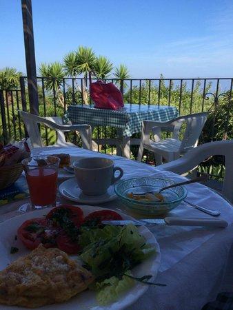 Villa Damecuta: view from patio