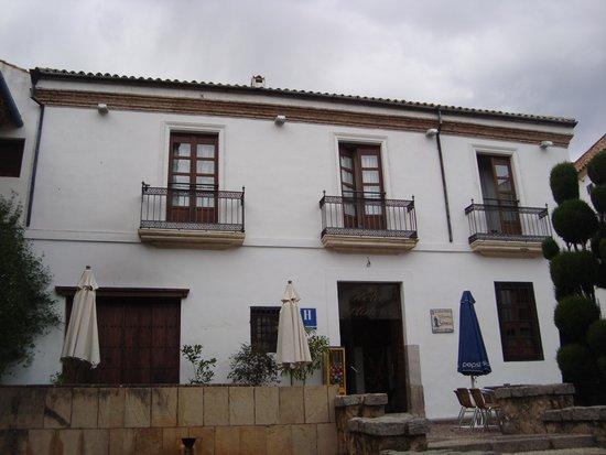 Hotel Plateros: Desde la plaza Séneca
