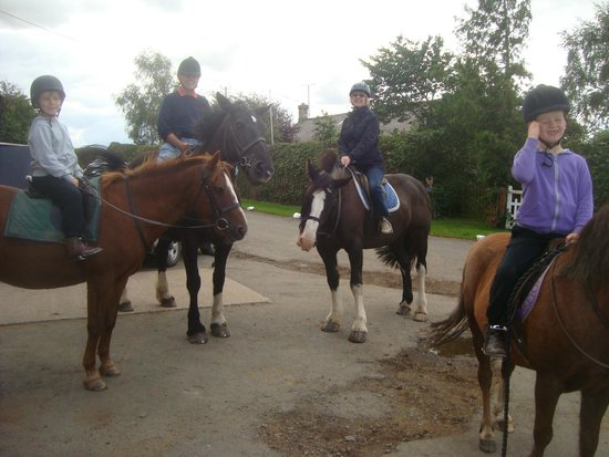 Kimmerston Riding Centre: We all got back