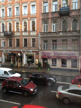 Kristoff Hotel: Вид из окна