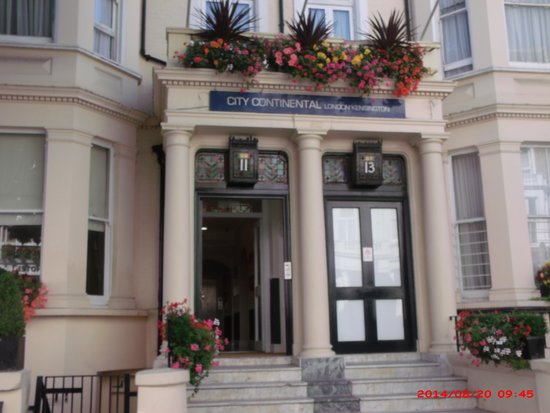 City Continental London Kensington: the hotel