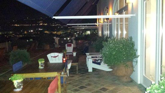 Maison La Minervetta: terrazza meravigliosa