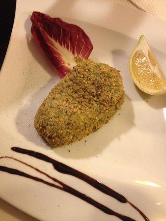 Nerino Dieci Trattoria : tonno in crosta di pistacchio