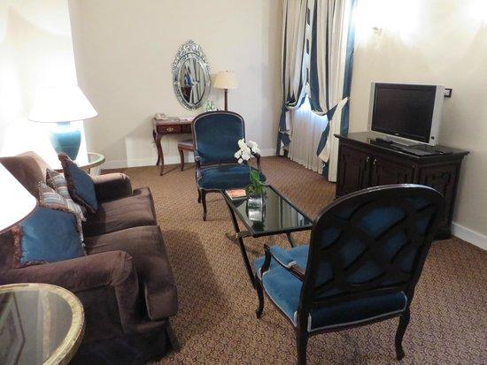 The Westin Europa & Regina, Venice: Suite sitting area