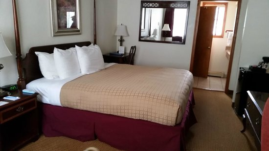 Ouray Victorian Inn: Pet Friendly Room King Size Bed