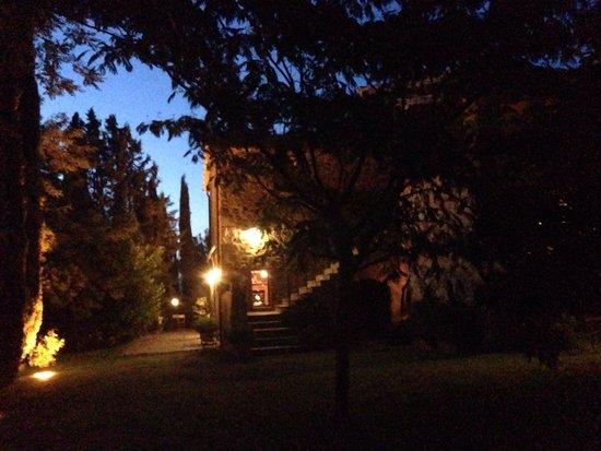 La Pieve: Al tramonto