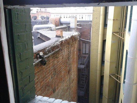 Adante Hotel: Vista degradata dalla nostra camera