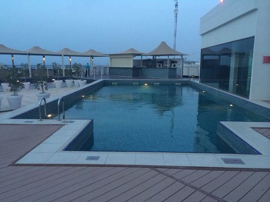 Park Inn by Radisson Muscat : well maintained pool