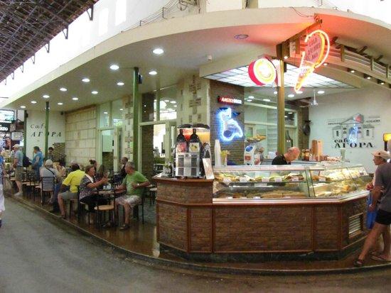 Mercato Agora di Chania : risto-bar