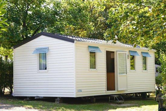 Camping du Lac de Nabeillou : mobile home