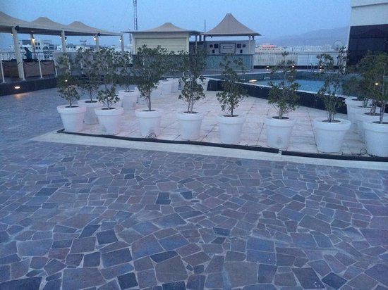Park Inn by Radisson Muscat : relaxing roof top top lounge ;)