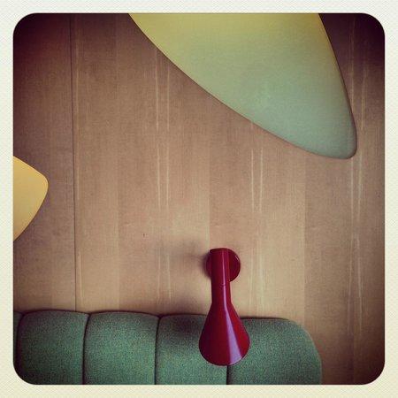 Radisson Blu Royal Hotel Copenhagen: Suite (détail) lampe AJ