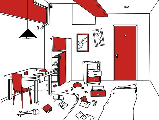 Illustration of room - Picture of Mystery Room NYC, New York City ...