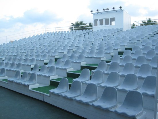 the audience space