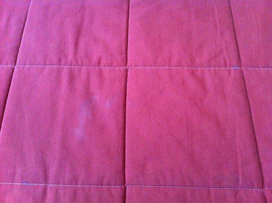 Goldhotel: Macchie bianche su coperte e lenzuola... No comment