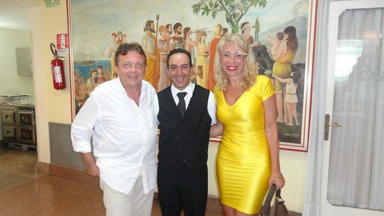 Hotel Sporting Baia: With hotel restaurant manager