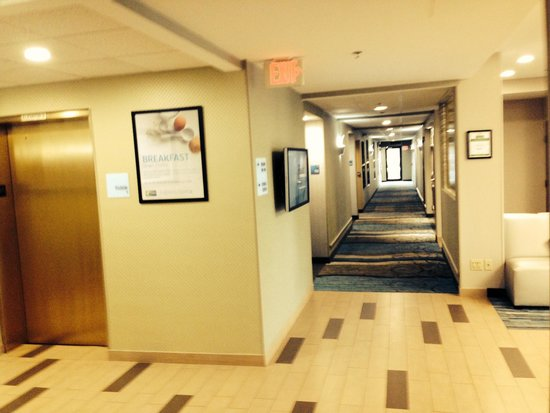 Holiday Inn Express Meadowlands: couloir