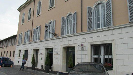 Kolbe Hotel Rome : Fachada