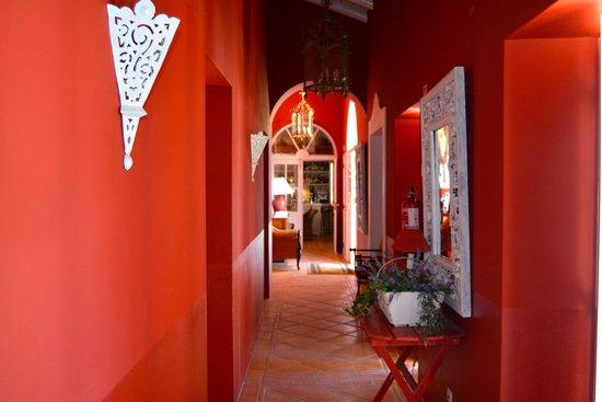 Quinta da Cebola Vermelha: Romantischer Innengang der Zimmer 1-3