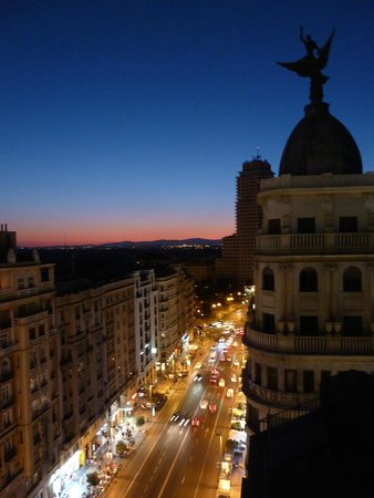 Hotel Vincci Via 66 : Sunset from roof top terrace