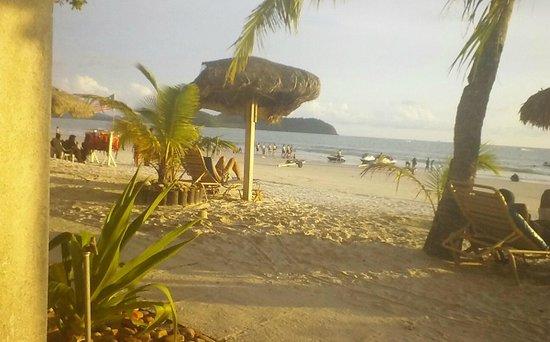 Malibest Resort: From the front door of my beachfront room