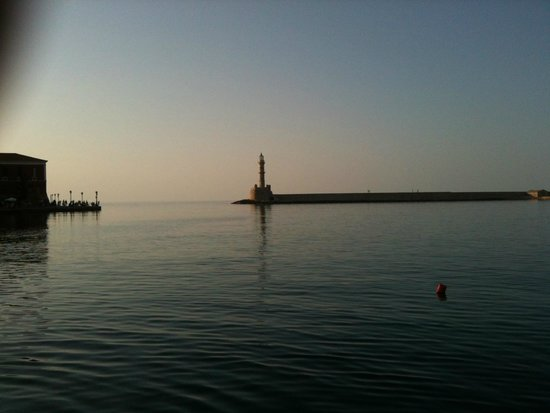 Casa Delfino Hotel & Spa: Ancient lighthouse - Chania Harbour