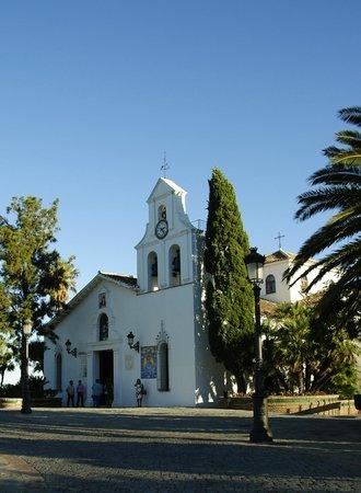 Santa Domingo Church (Iglesia de Santa Domingo) : Looking toward the church