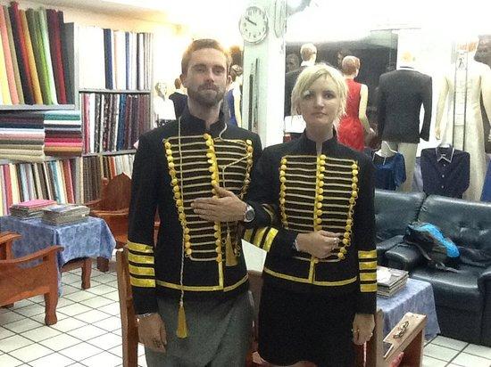 เมืองเชียงใหม่, ไทย: Lovely couples with their unique jackets