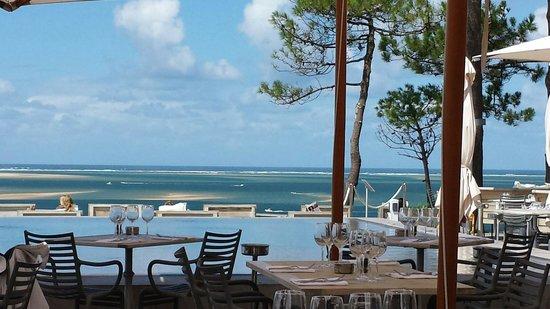 La Co(o)rniche : Blick auf die Bucht