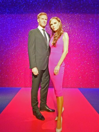 Madame Tussauds London: David e Victoria Beckam