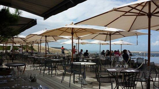 La Co(o)rniche : Restaurant Außenbereich