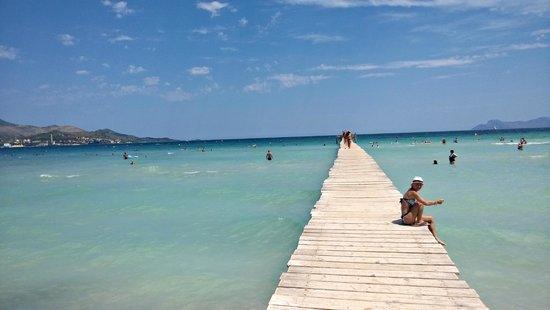 Muro Beach Picture Of Bq Alcudia Sun Village Playa De Santa Ponsa And Beyond Travel Guide On Tripadvisor