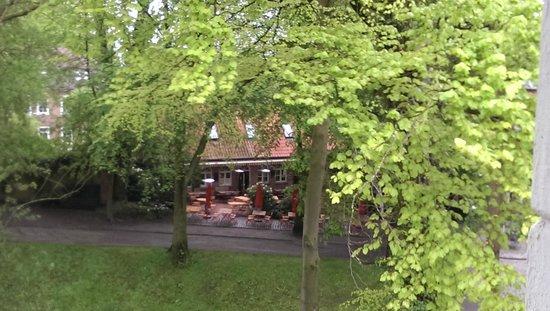 Hotel Hochzeitshaus: Blick ins Grüne