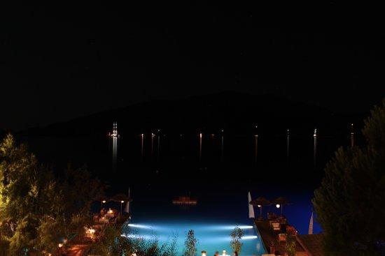 Karia Bel' Hotel & Restaurant: vue depuis une chambre
