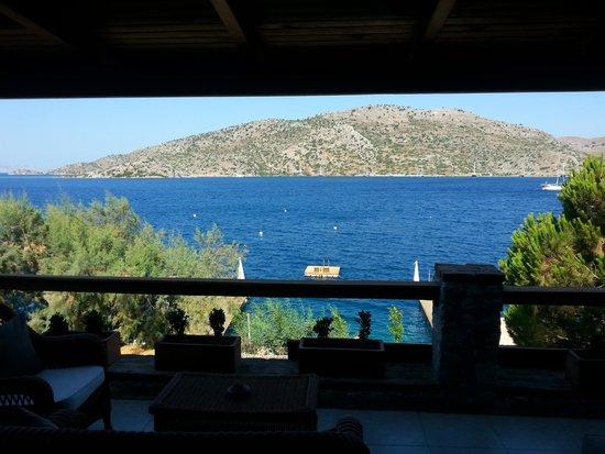 Karia Bel' Hotel & Restaurant: depuis une des chambres