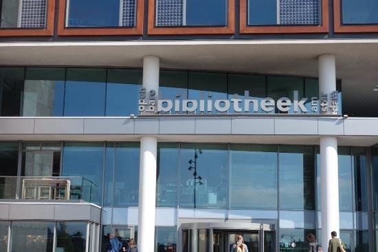 Bibliothèque centrale (Openbare Bibliotheek) : sign