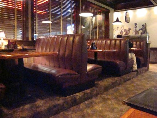Inside Seating Ralph & Kacoo's
