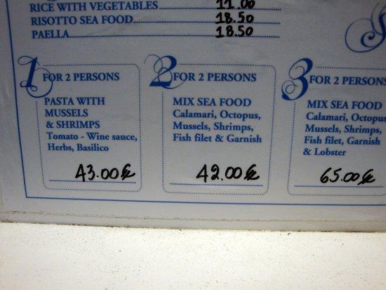 Opa Taverna: PRECIO DE 42€