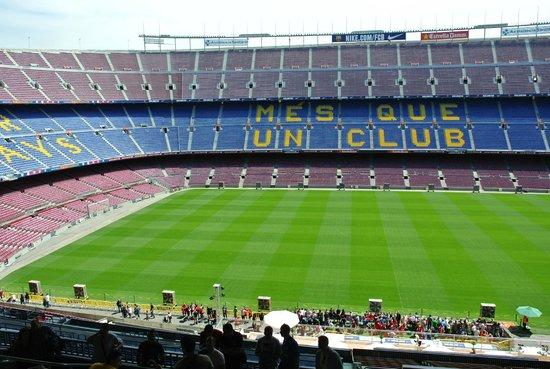 Camp Nou: Stadion