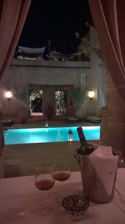 Caravanserai: wine by the pool