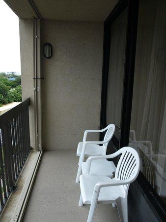 Hampton Inn Cocoa Beach/Cape Canaveral : Balcony