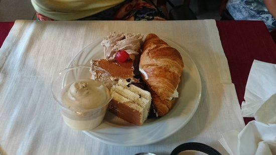 Hotel Papi: pudding!!