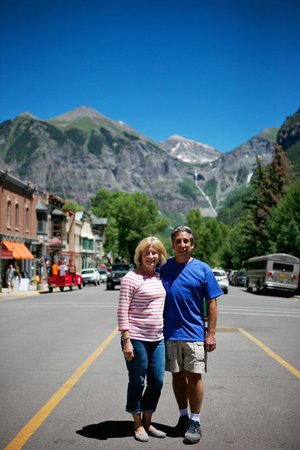 Tasting Telluride Food Tour: Lois and Howie, locals since 1972