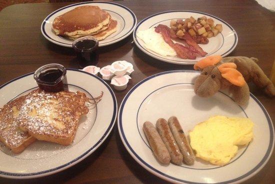 Bob Evans: Good hearty country breakfast