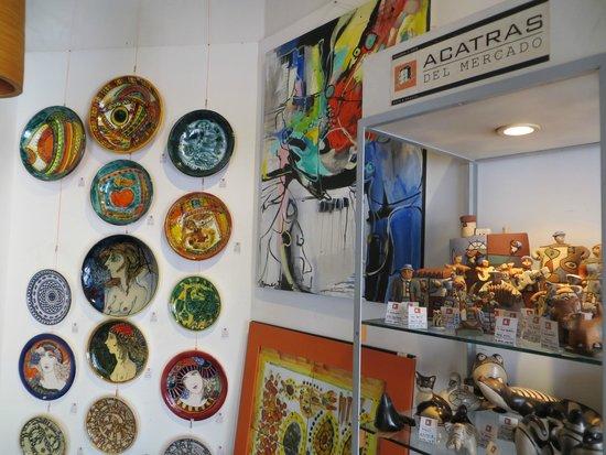 Acatras del Mercado - Galeria de Arte