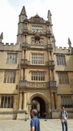 Bodleian Library: uma das laterais
