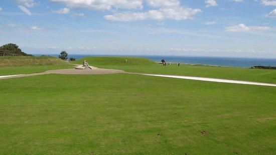 Battle of Britain Memorial: paysage sur la Manche