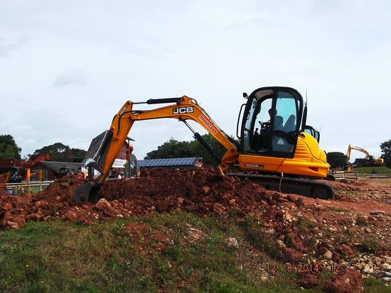 digging a hole picture of diggerland cullompton tripadvisor