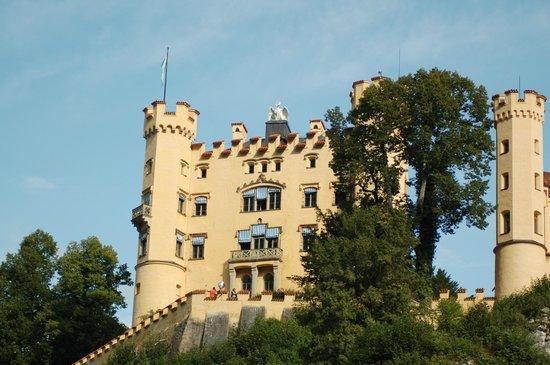 Schloss Hohenschwangau: L'imponente castello