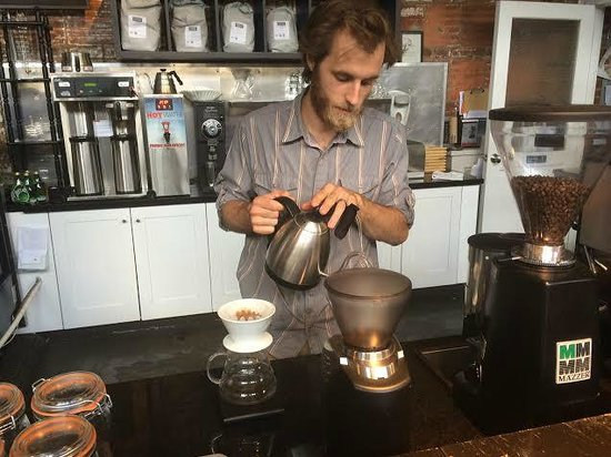 The Camp House coffee: There is science behind making a perfect cup of joe.